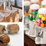 Ideas sobre qué regalar a los invitados de un evento